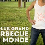 Sérigraphie au plus grand barbecue du monde !