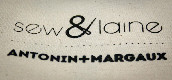 Collaboration Antonin+Margaux et  Sew&Laine pendant la Spring Week
