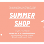 Le SUMMER SHOP de la Team Etsy Nantes