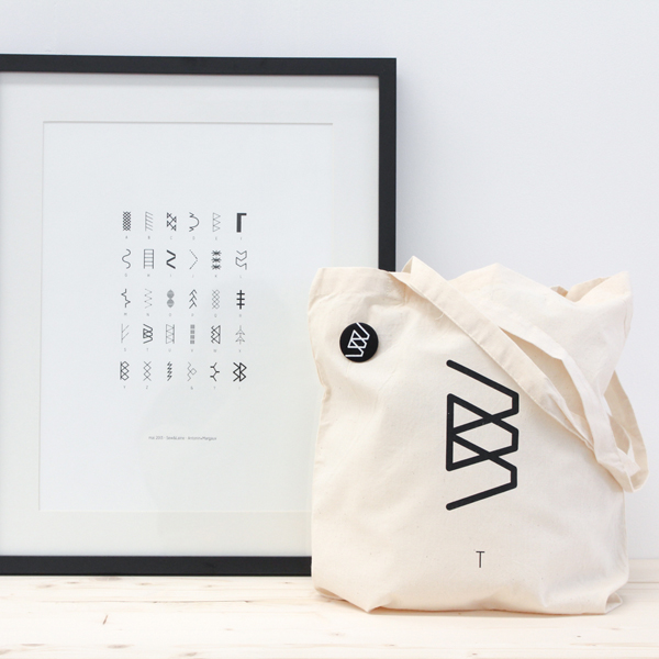 collaboration antonin+margaux sew&laine sacs affiche badge couture