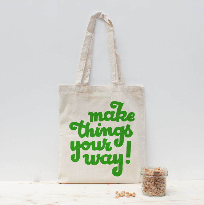Make things your way lettrage Antonin+Margaux lettering