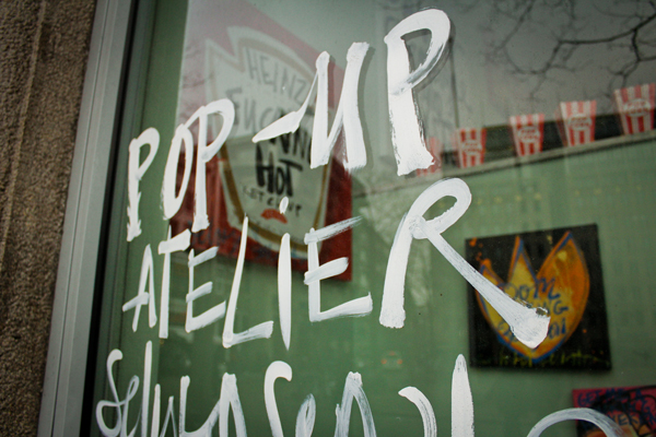 antonin plus margaux amsterdam typographie Pop-up