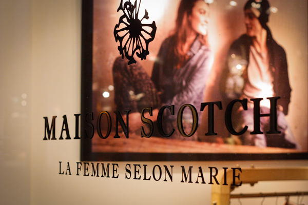 antonin plus margaux amsterdam typographie Maison Scotch